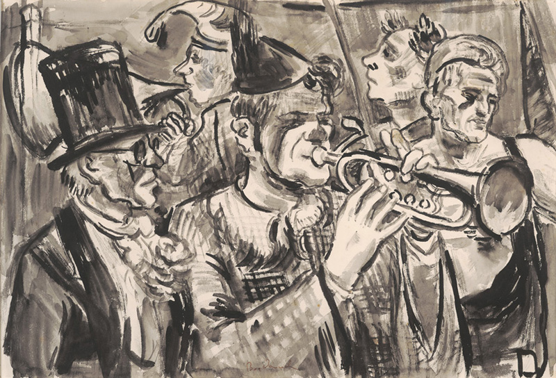 Circus Musicians 1937