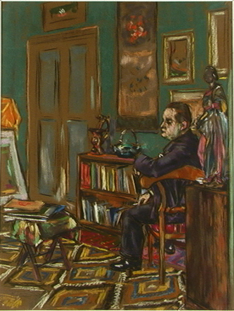 Roman in the Study by Borislav Bogdanovich