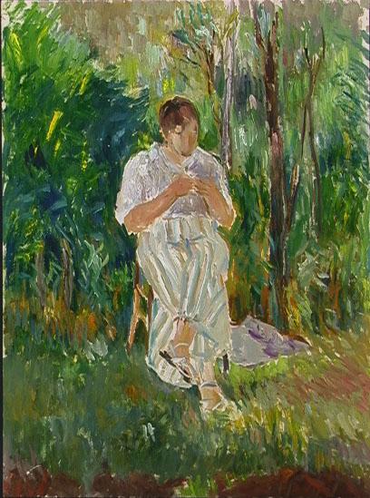 Herma in the Garden