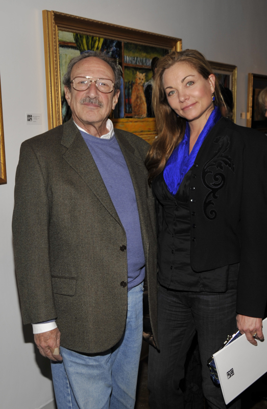 Mike Melvoin, Theresa Russell;(John M. Heller/Getty Images)