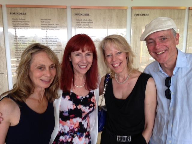 Shelley Gazin, Anna B, Leslie Plimpton and Joseph Sohm