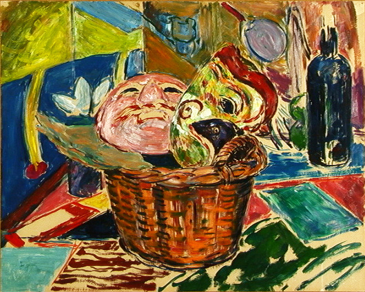 Masks in Basket