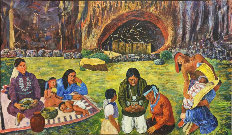 CANYON DE CHELLY 7 X 12 Feet