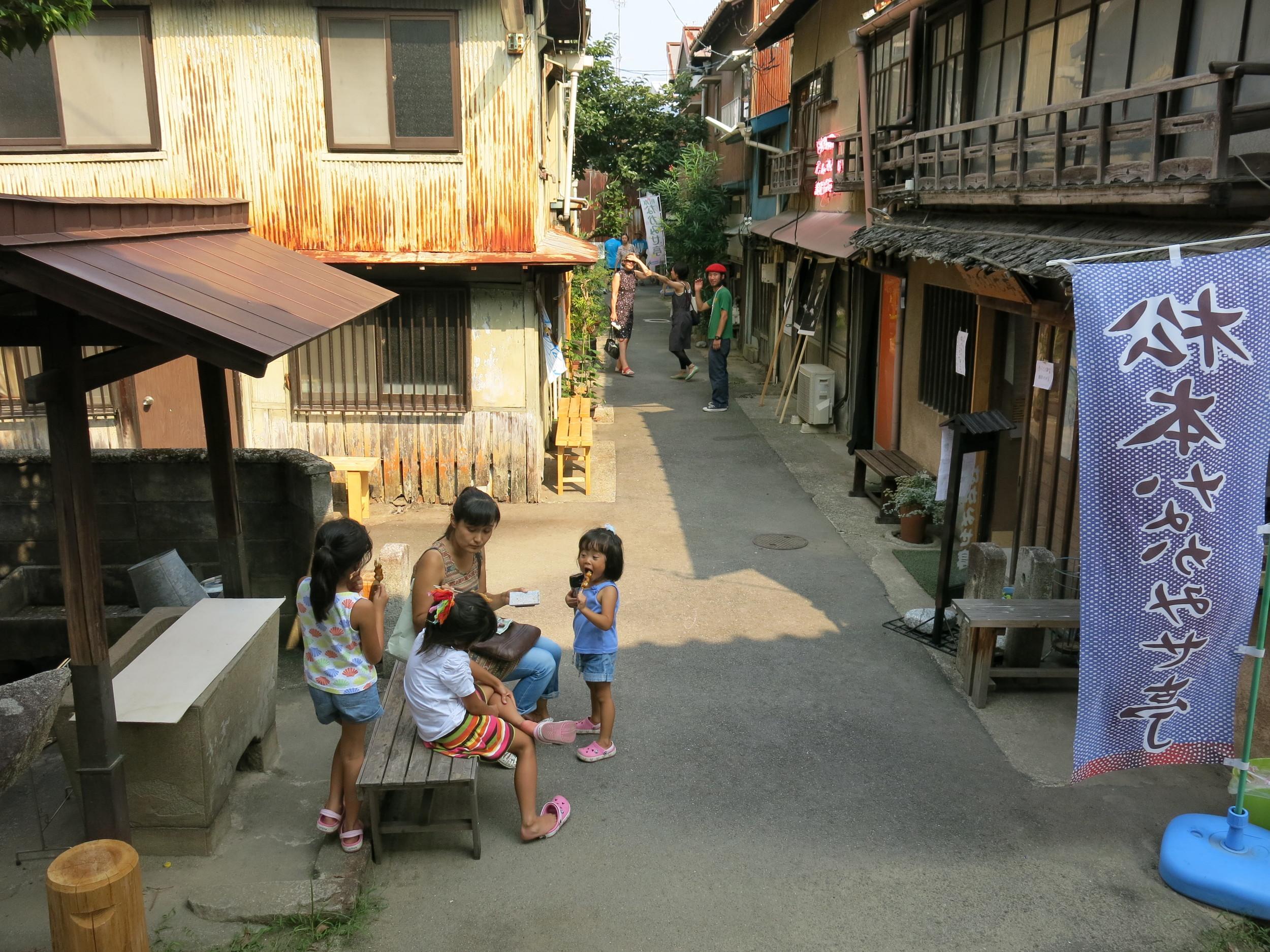 Matsumoto-cho site in the Okazaki area.