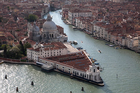 Punta della Dogana from above