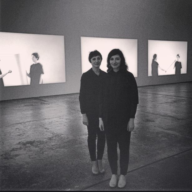 Gabriella and Silvana Mangano. (c) and photograph: Lucy Rees.