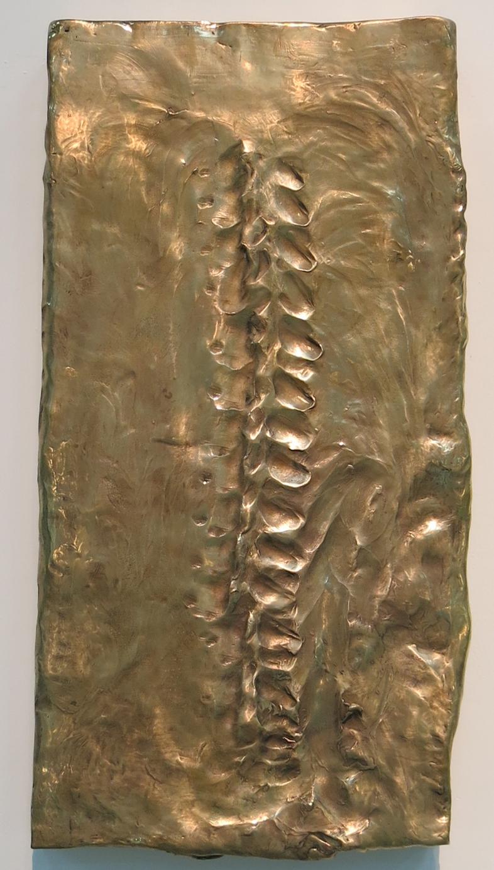 CAMILLE HENROT, Massaged Sculptures (detail), bronze. Photo; Lucy Rees.