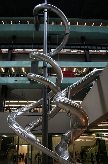 Carsten Höller,  Test Site,  2007, installation at Tate Modern, London, between October 2006 and April 9, 2007.