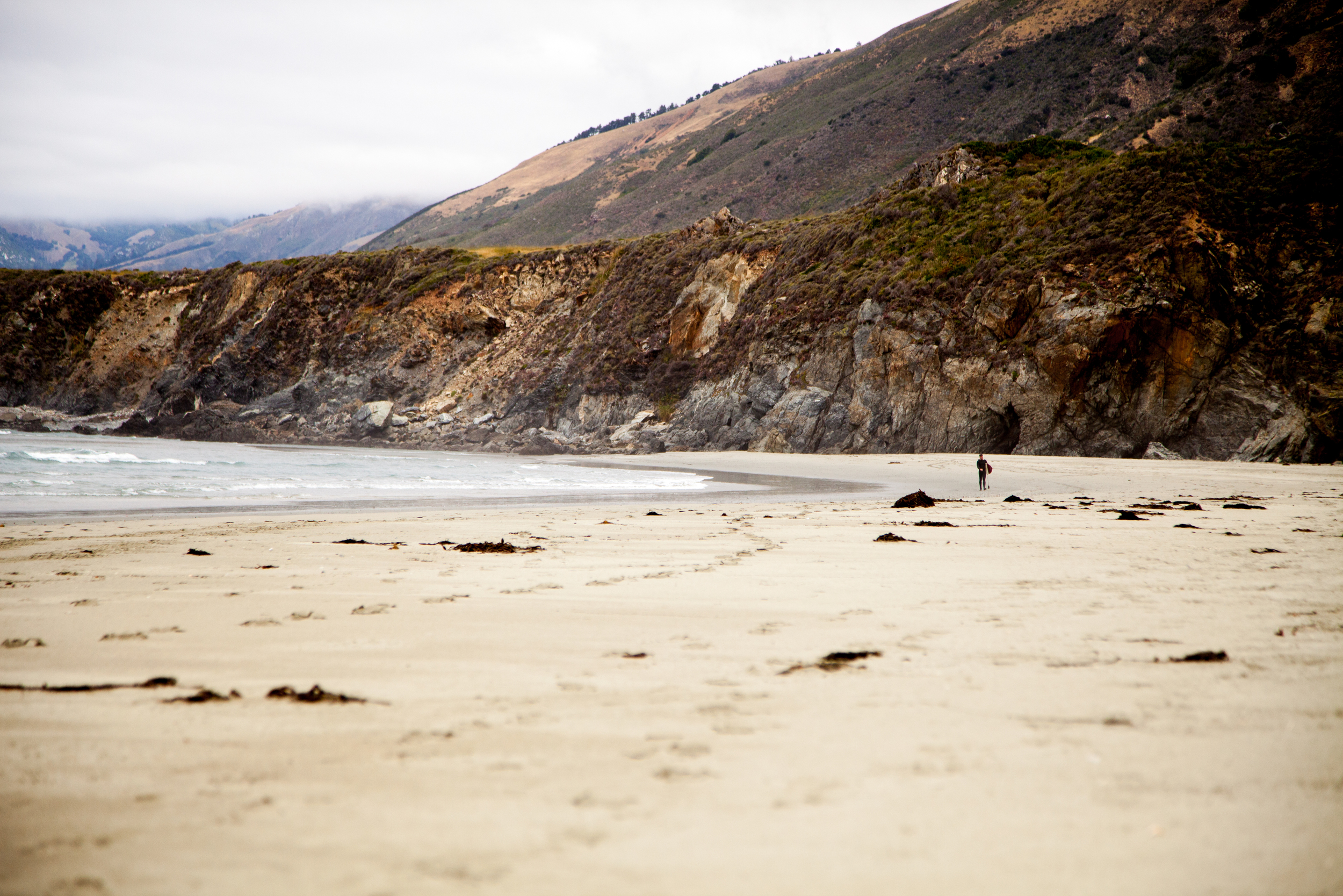 This was from a road trip down the coast of Big Sur, which I'm writing about in part for a story for REI.com.We camped, surfed, biked, hiked, roasted marshmallows. Good times!