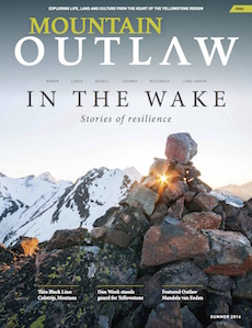 """""""In the Wake"""" — Six athletes died for adventures they loved. Six widows remain. When a world is shattered. The noise silenced. What lies beyond?  Mountain Outlaw, Summer 2016"""