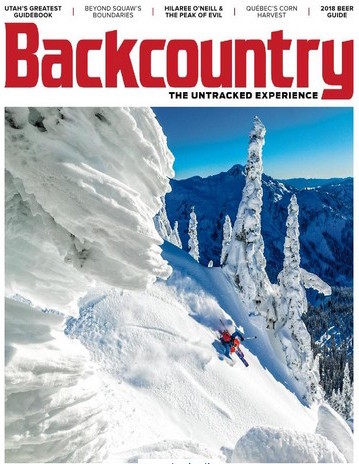 """""""The Gatekeeper"""" — What does it take to get a large ski resort to open its still-locked boundaries to the backcountry? Mountain guide Adrian Ballinger finds out.  Backcountry, March 2018"""