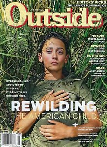 """""""The Life Aquatic"""" — What compels a couple to spend life at sea with their young family? A desire to do something different.  Outside Magazine, Sept. 2018"""