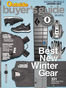 """""""Your Best Winter Yet"""" — As mega-passes continue to add resorts, now is the time to ditch single-day lift tickets for good.  Outside Buyer's Guide, Winter 2019"""