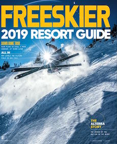 """""""School is in Session"""" — Today's top teenage freeskiers still need a high school degree. But with complex training schedules and global competitions, the education they're getting is far from ordinary.  Freeskier Magazine, November 2018"""