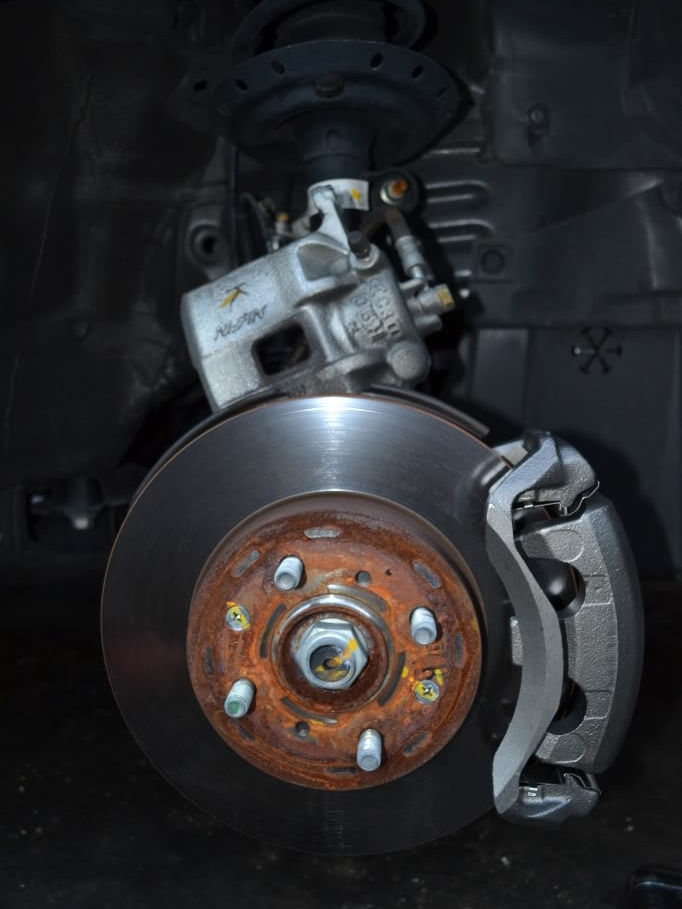 Front And Rear OE Brake Calipers /& Rotors /& Pads For Acura Legend