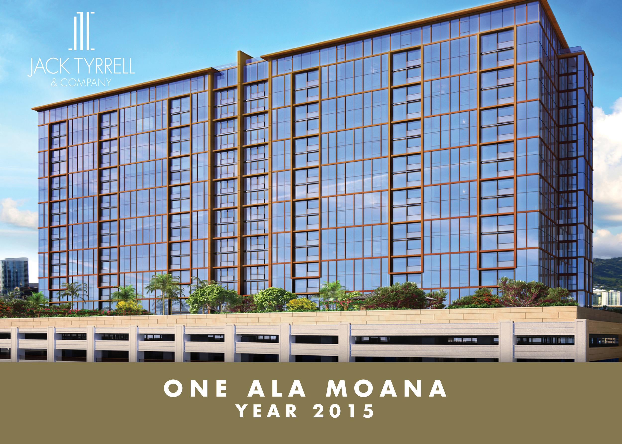 One Ala Moana - Completion 2015