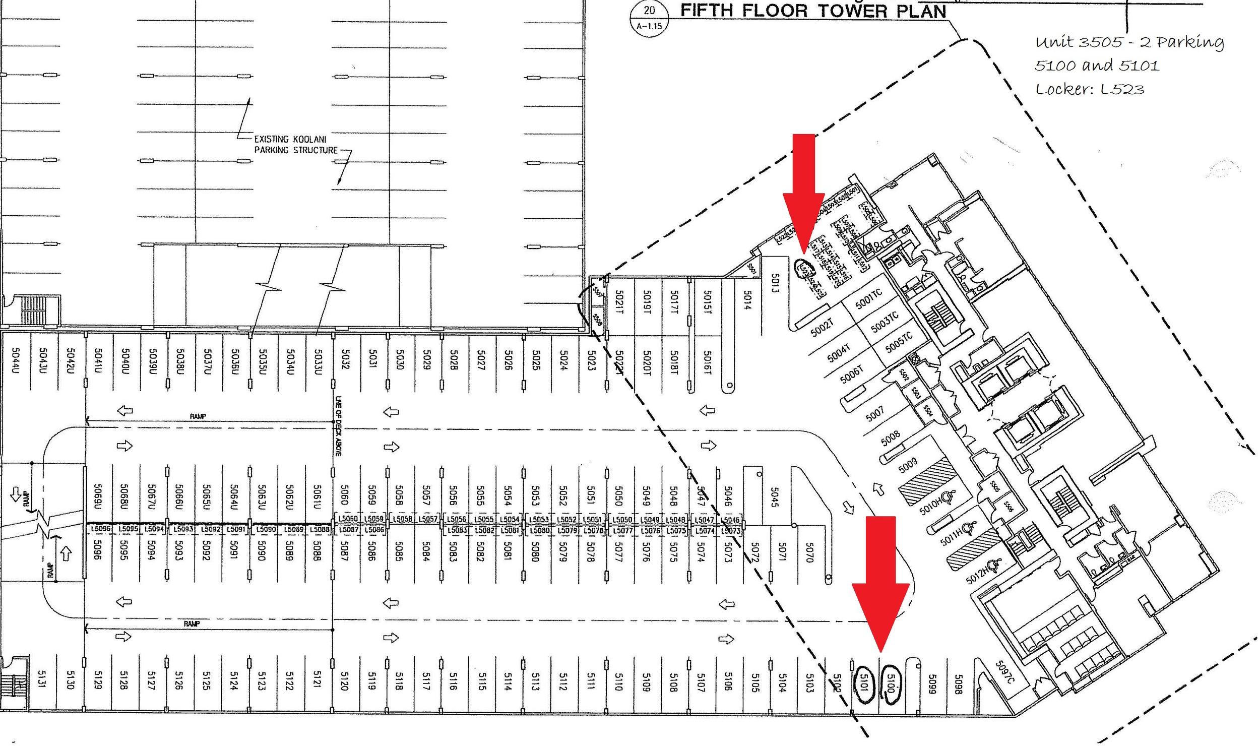 2 Parking & Storage S217 - 2nd Floor