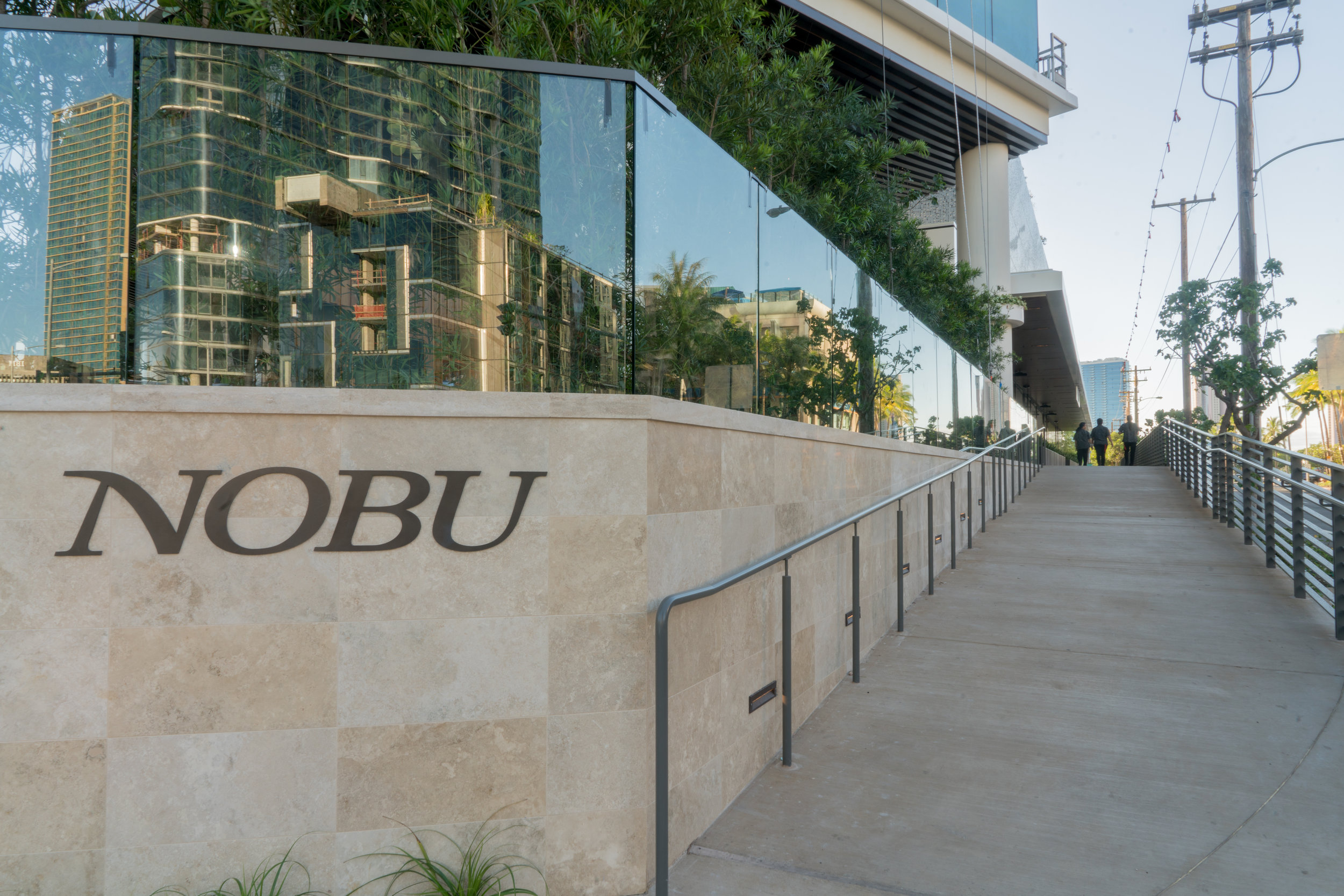 Nobu Honolulu Open-Air Bar & Lounge.  Photo credit: Nobu Honolulu
