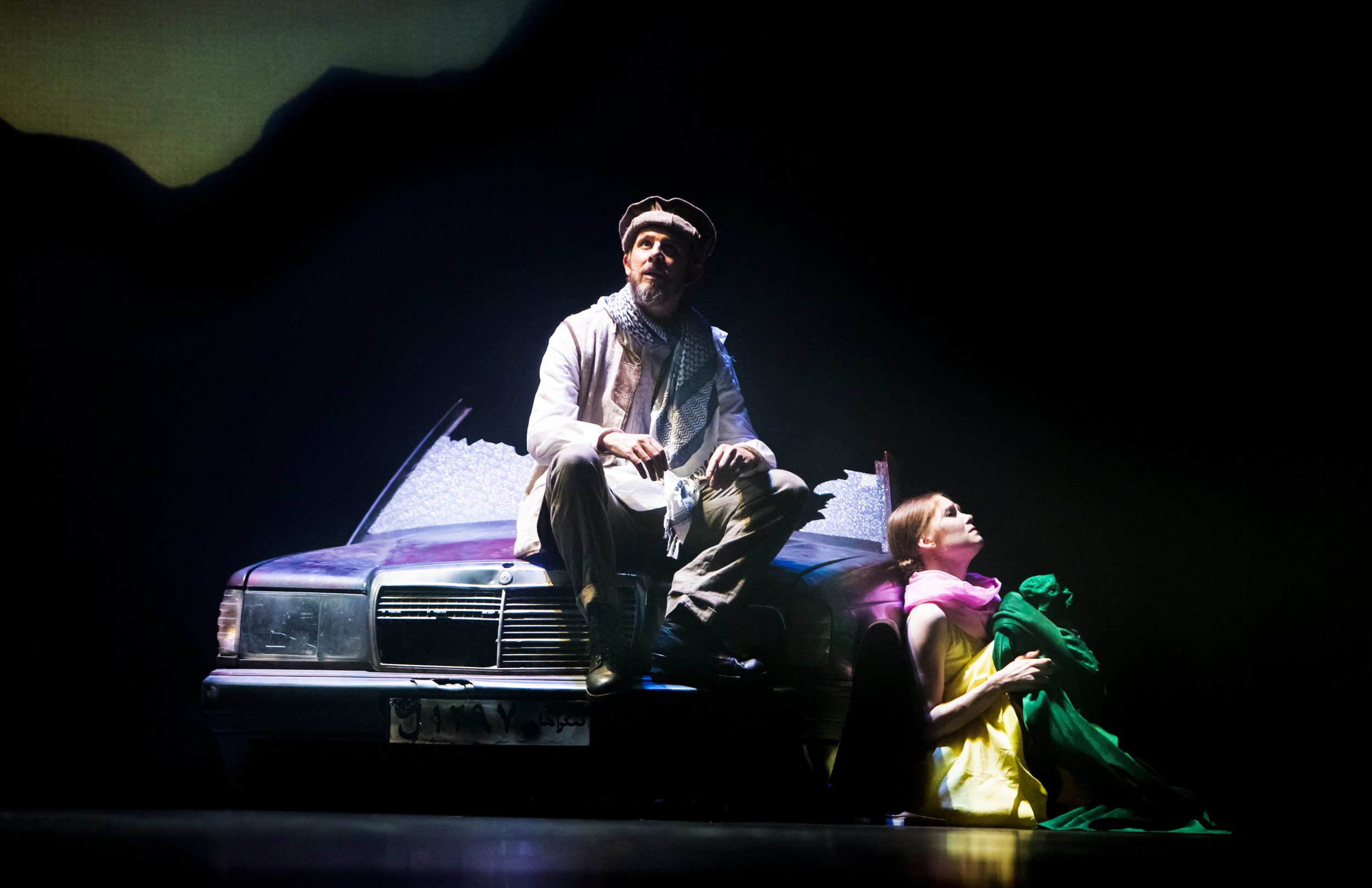 Khwaja - Homebody (Colin Benders) with dancer Erica Horwood