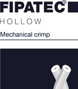 hollow mechanical crimped polyester fiber