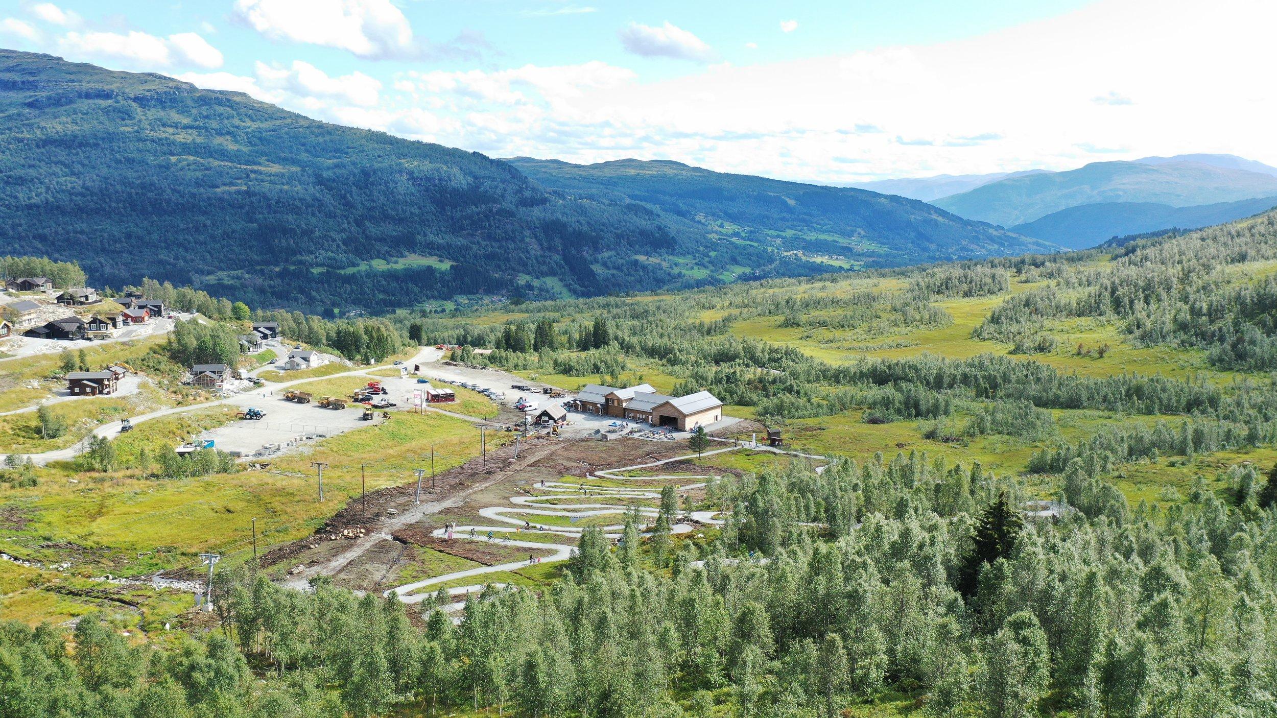 Nordbohus Sykkelpark i Sogndal Skisenter