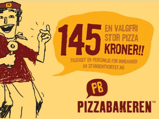 Pizzabakeren - pizzabakeren.no post@pizzabakeren.noTlf. +47 576 78 600Opningstider:Mandag - Torsdag: 11:00 - 22:00Fredag - Lørdag: 11:00 - 23:00Søndag: 11:00 - 22:00Her får du god pizza! Enten hentar du pizzaen sjølv eller så kjem vi og leverer den rykande fersk der du er.