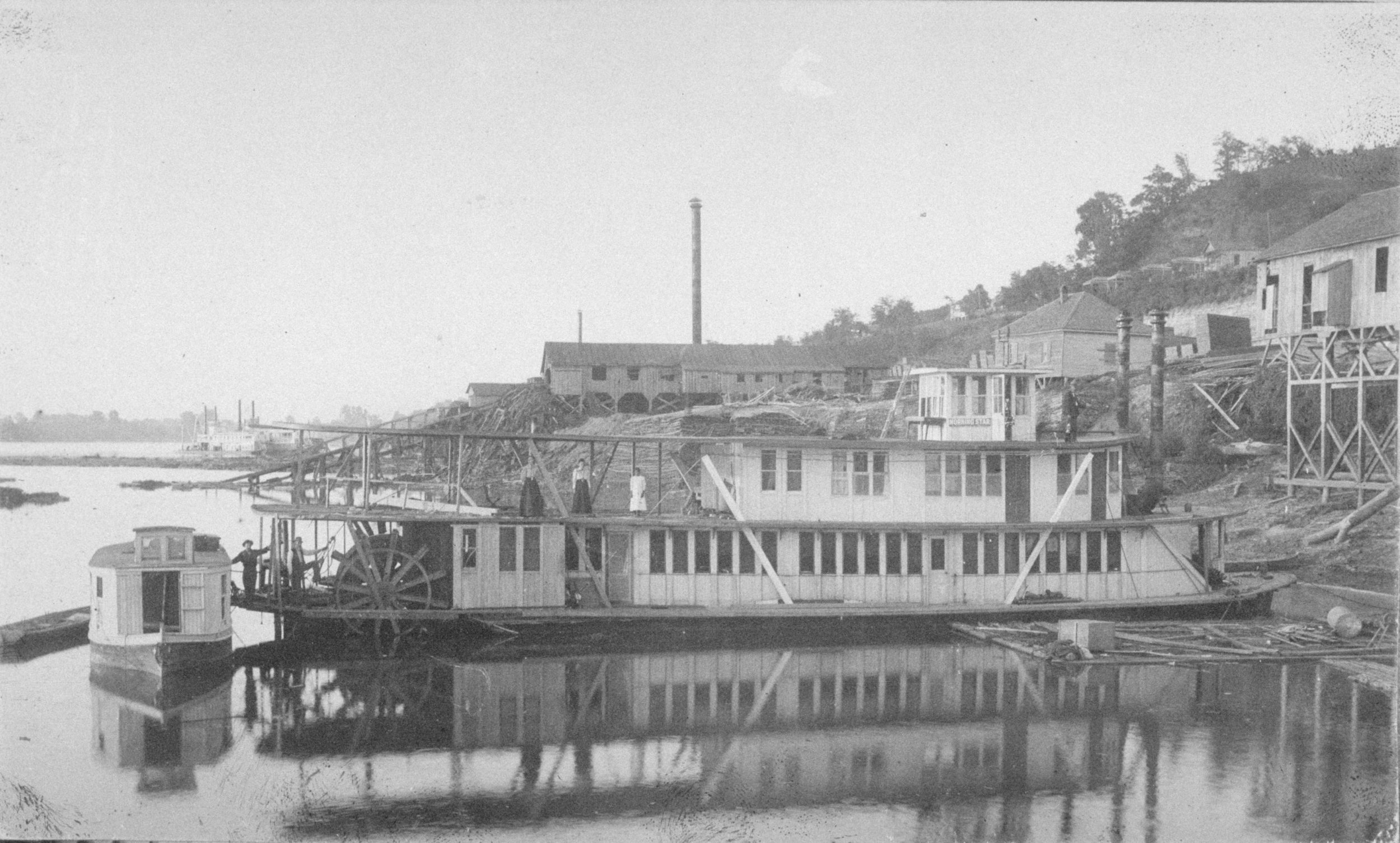 Morning Star Steamboat ca. 1895