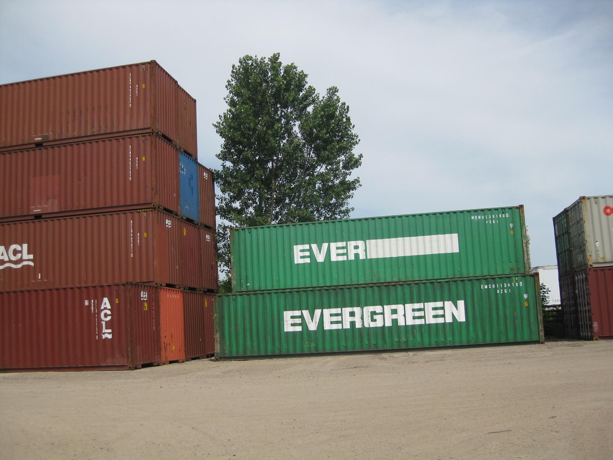 Cargo-worthy 40' High Cubes