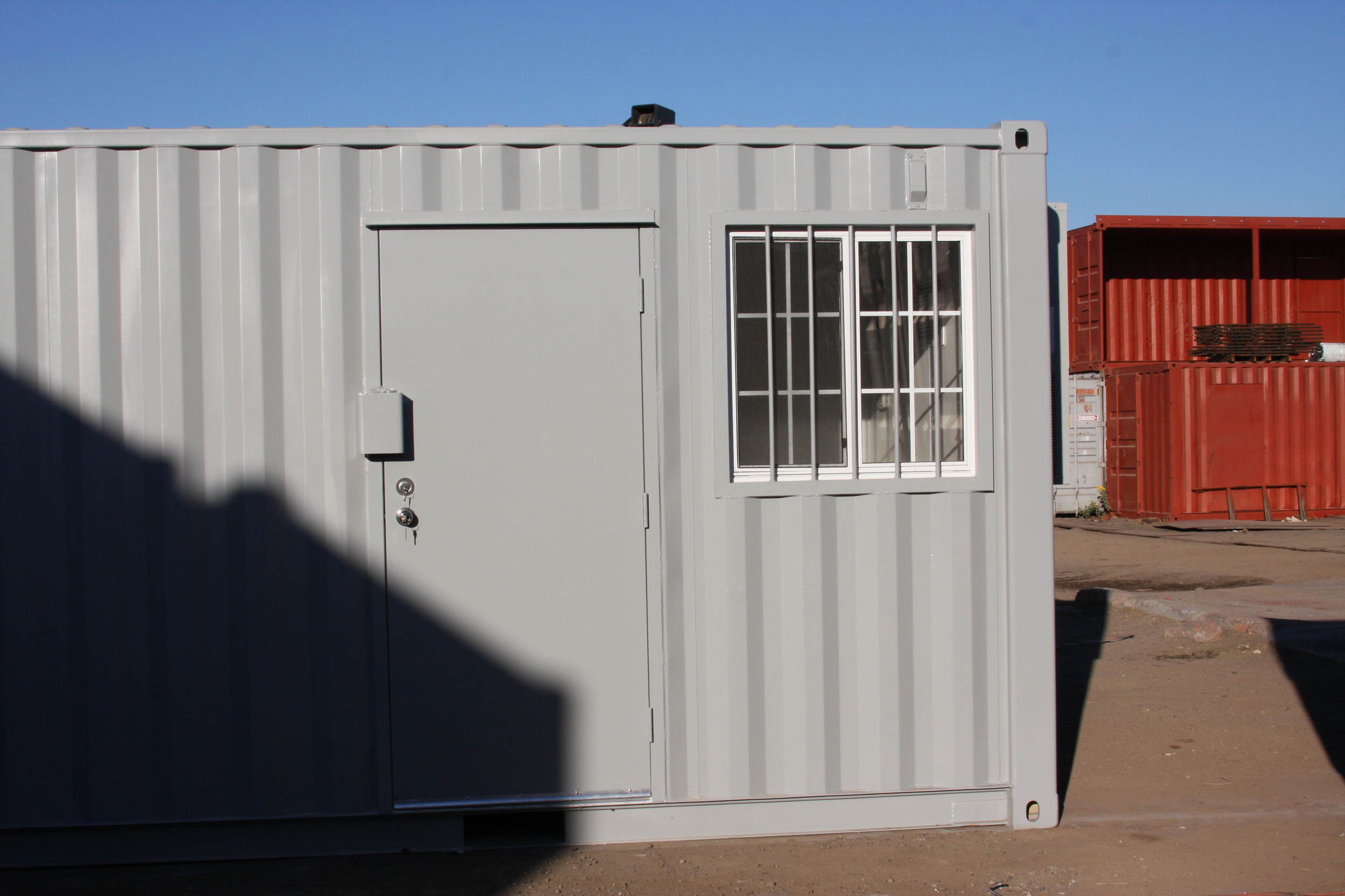 Office container outside