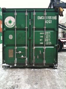 Container doors