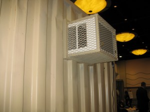 AC Heat Kit with cage