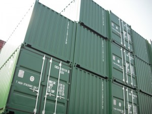 Cargo-worthy containers can handle being stacked