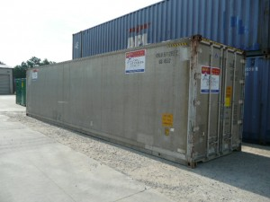 Refrigerator 40' container