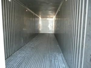 Inside refrigerator container