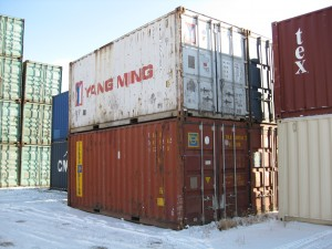 Used 20' containers