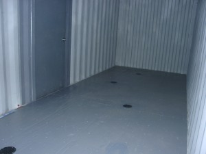We can epoxy the floor in some locations