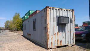 Used containers convert quickly and easily