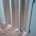 Furring strips for attaching paneling