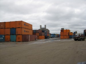 We have containers in a mix of sizes and conditions