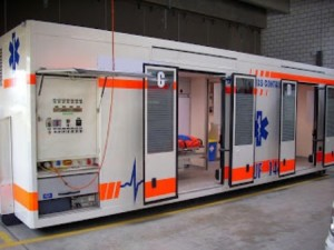 Emergency Hospital Container