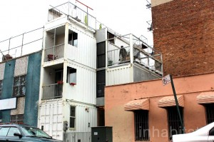 6-container home in NYC courtesy Inhabitat