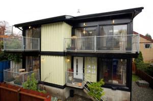 Victoria, BC container home