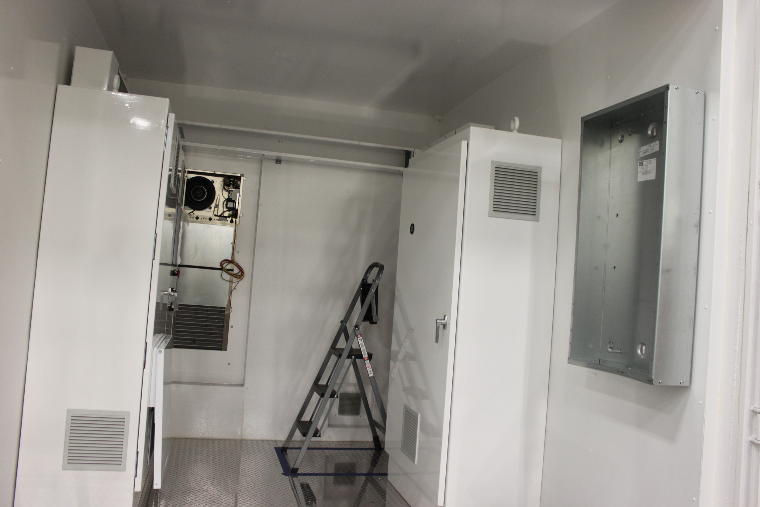 10' after the customer started installing their equipment