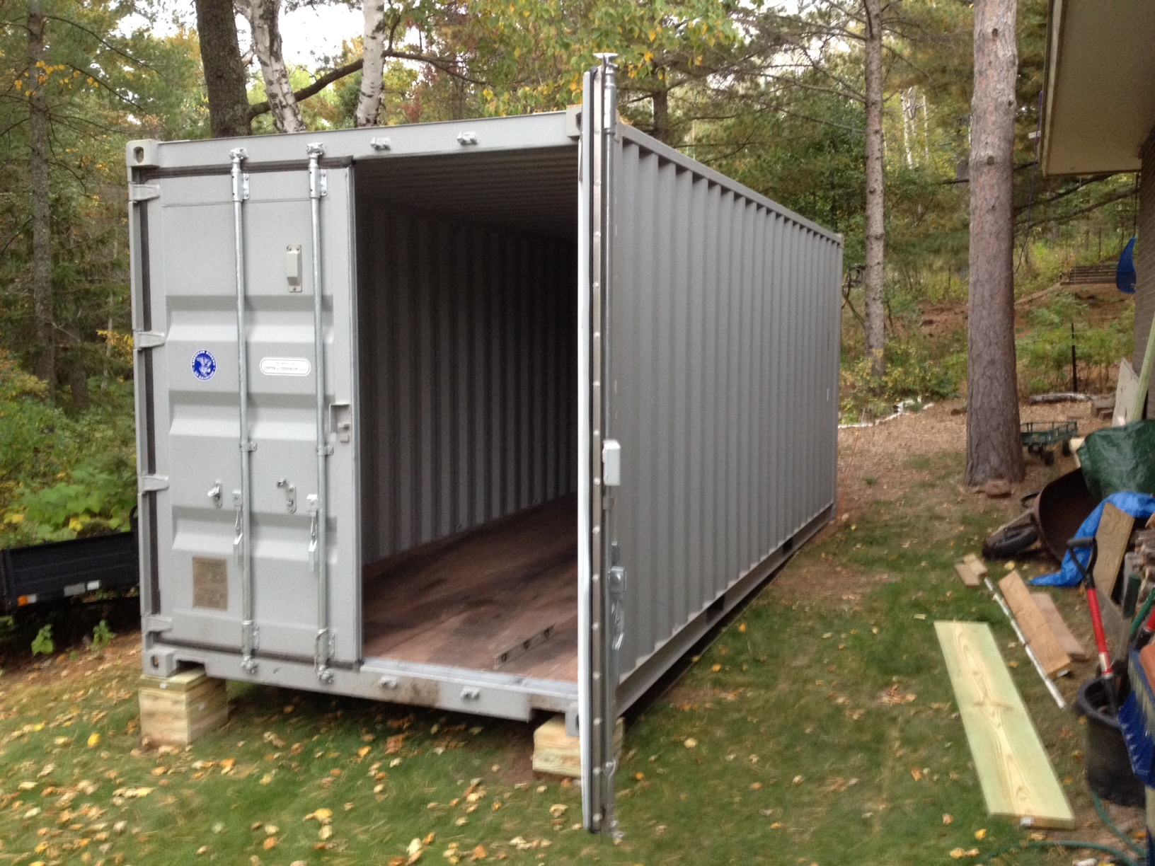Shipping container garages are a quick, easy and affordable way to increase your storage.