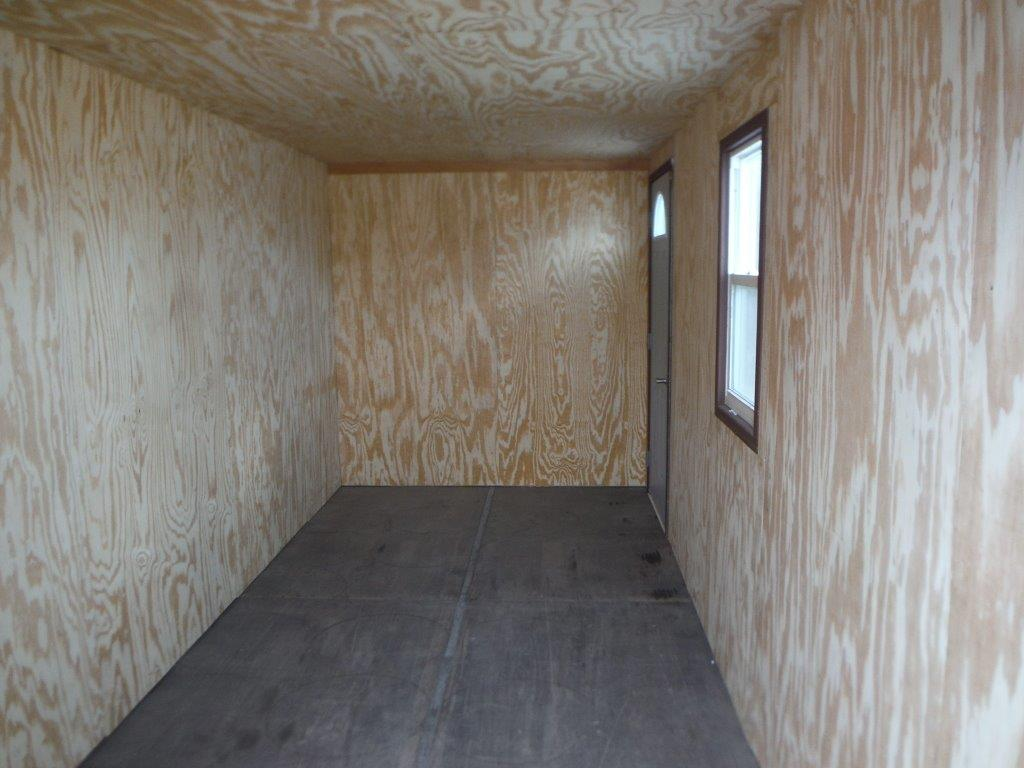 Insulated walls and ceiling