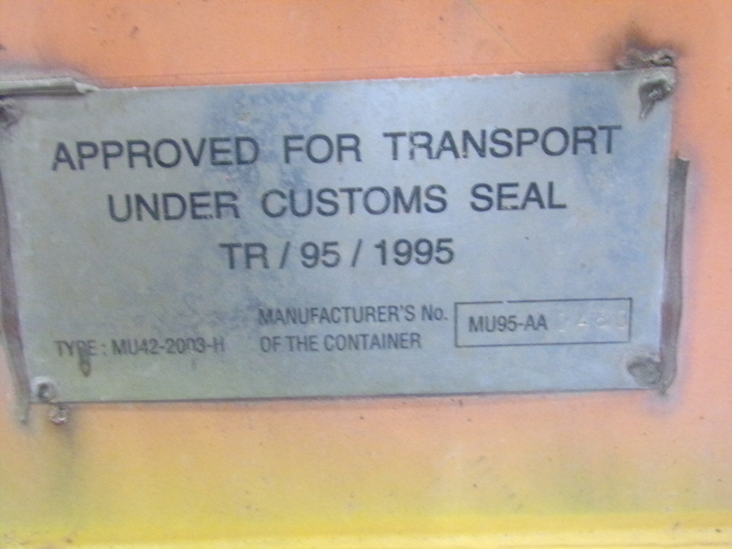 Other CSC Plate