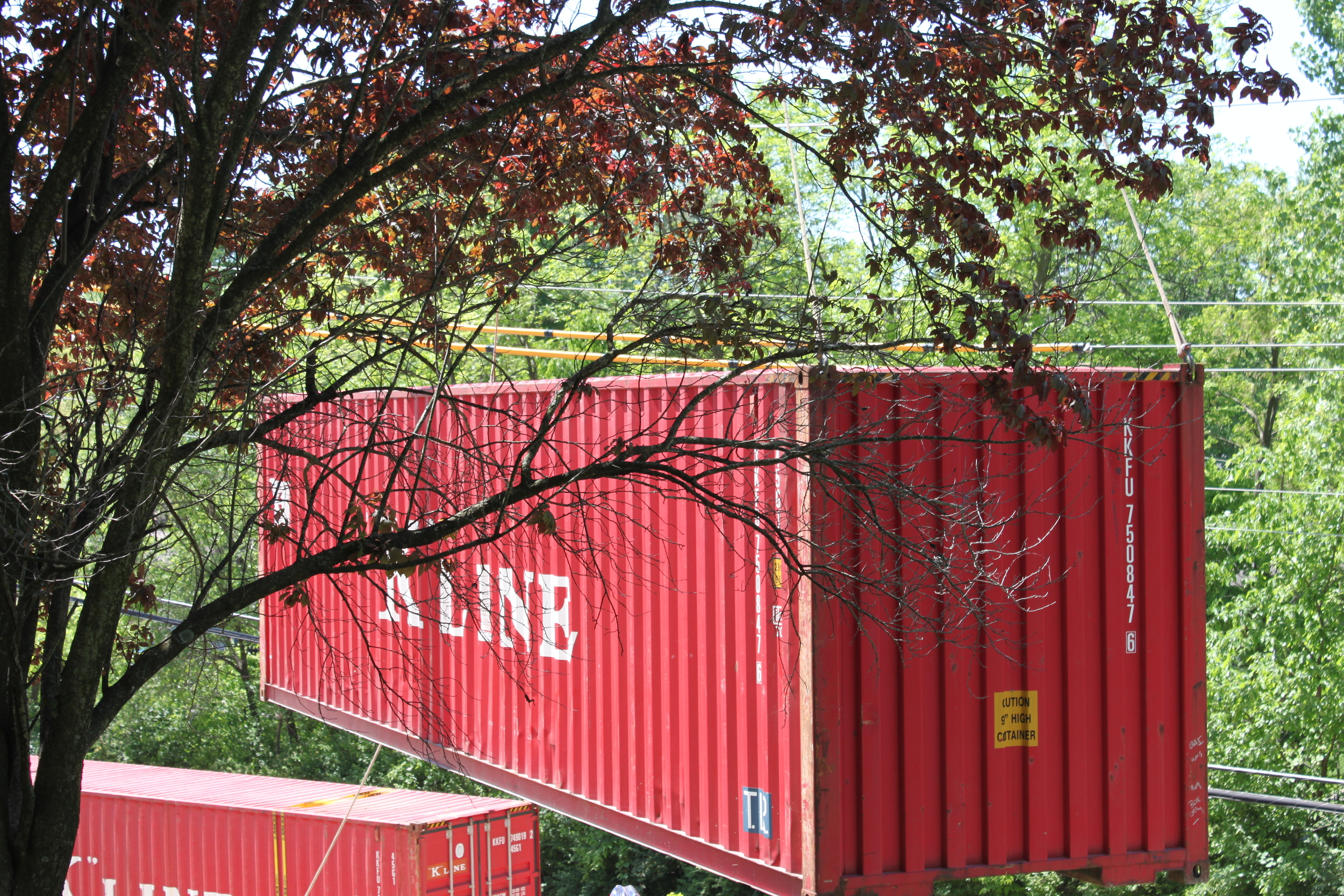 Container on the move