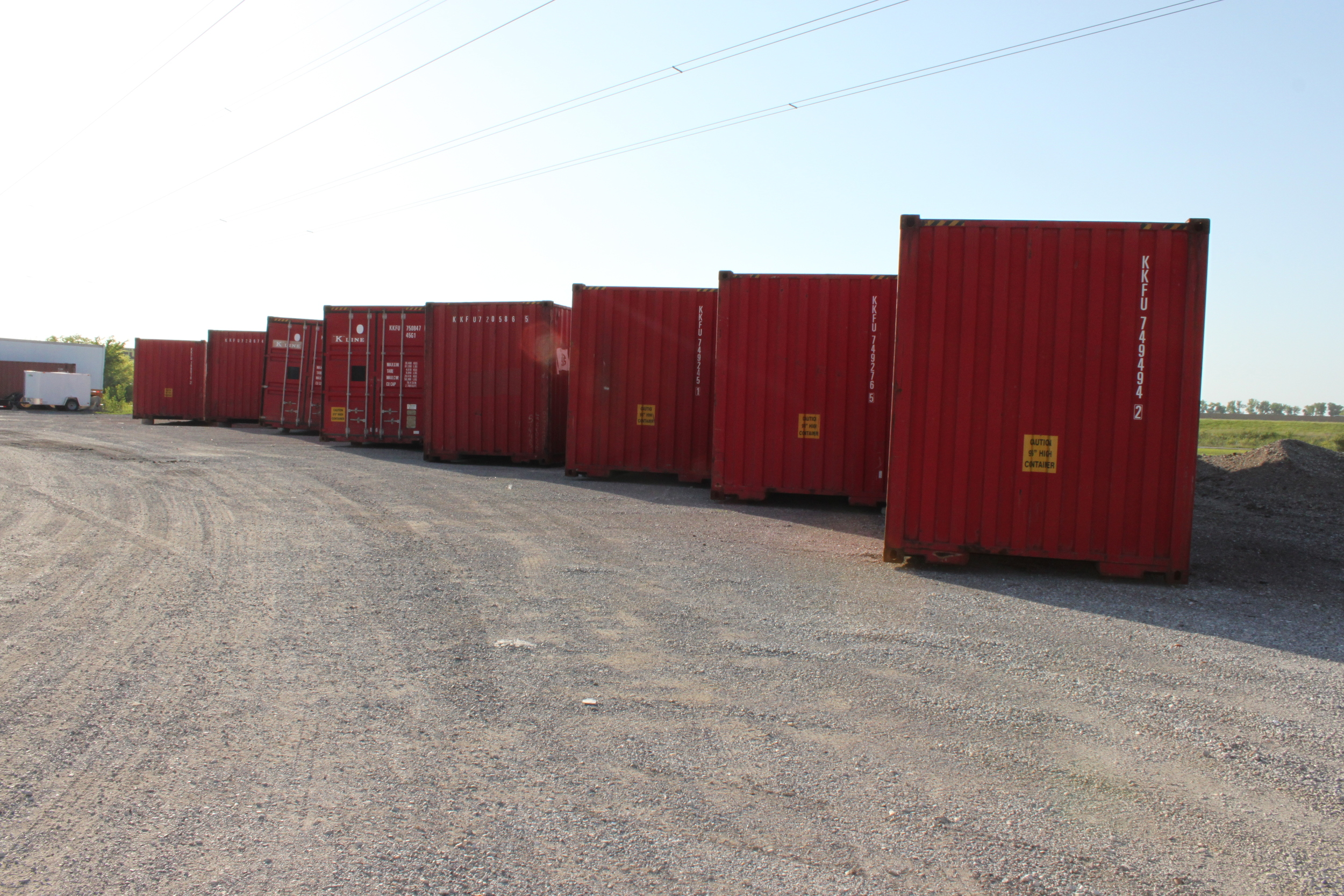 Staged containers