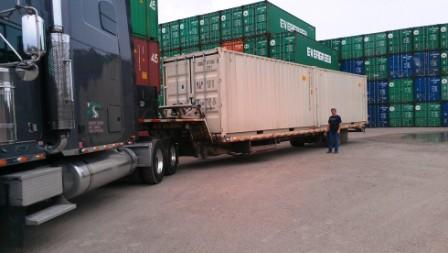 The biggest factor in pricing is the geographic location for container delivery.