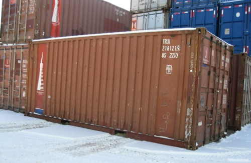 Used 20' container